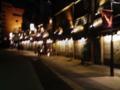 一緒だった作曲家と会場で会った某WS職員と浅草寺を散歩、屋台的 なる