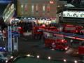 N船橋駅前がカオスってる件。毒劇物漏洩とか書いてある車が止まって