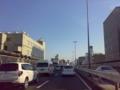 東名高速道路もかなりの交通量でしたが、首都高速道路は止まっていま