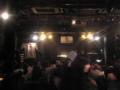 参加者全員、一人ずつステージで唄うイベント。長丁場だね。