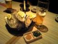 今夜は生牡蠣で一杯!