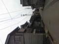 黒島集落はかなり規模のある板張り黒瓦の町並みでした。ただ、所々で