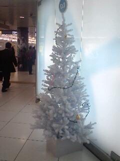 東京地下鉄池袋駅のクリスマスツリー。