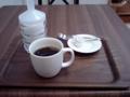 アンコが濃いので、コーヒーを追加で頼んだ