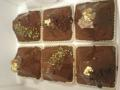 今日はチョコレートのバターケーキなのだ。