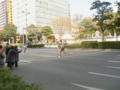 福岡国際マラソンなう!(旗貼りとチラシ配り)