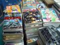 [本]棚卸し実況(10) 一般特大コミック。これから棚の拭き掃除。