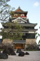 最後に。帰りに清須城へ寄りました。名古屋から近いのに行った事なか