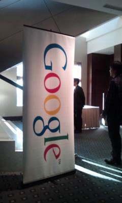 Google記者発表会終わりました。