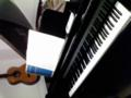 グラウンドピアノ練習室なう。
