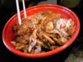 北海道!食べ物本当おいしい!休憩によって食べた豚丼が一見普通に見