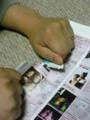 嫉妬に狂った @tzhaya が破きました。VISAカード会報の『レベッカ』掲載