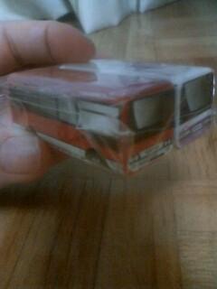 弟がエコプロダクツで貰ってきたバスマグネットが可愛い!!