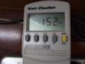 ワットチェッカーでPCの消費電力を測ってみた