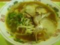 徳島港フェリーターミナルのレストランの徳島ラーメン
