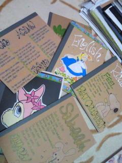 高校時代のノート発見。ACIDMANやエルレ、ビークルの歌詞が表紙に。良