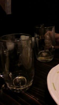 カヅホさんと居酒屋なう