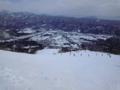 現在のリーゼンなう。一方、兎平は雪質は良いけど人が多くて滑りづら