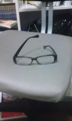 メガネ発見。どこで壊した