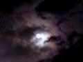 cloudy moon 帰ってきた時の