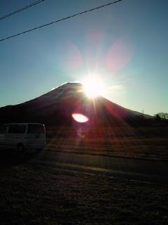 初日の出 いん 静岡