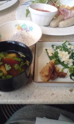 和食もあるのはいいよね。