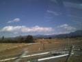 昨夏二度ともガスに見まわれた金峰山、今日は絶好の天気らしい。来週