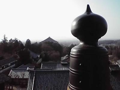 二月堂から 東大寺をのぞむ