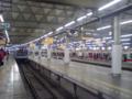 今朝の東急渋谷駅。