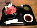 富士川SAで本鮪SP丼なう