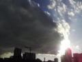 雲、なんかすごかった