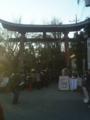 2日、鷲宮神社に行って来ました。
