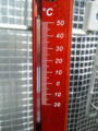 う〜ん、34度…暑い…。