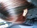 そういえば髪色こんなんになりました。成人式なのにツーブロック。