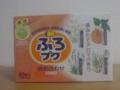 入浴剤「ふろプク」。398円で購入。ぽかぽか暖まりました。バ○じゃな