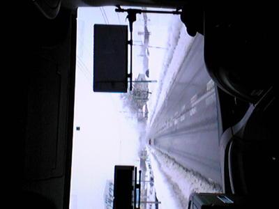 上越国際スキー場へ向かうバスの中