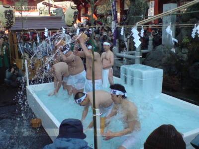 アキバガイドさんも 神田明神寒中禊見事にお勤めになりました。