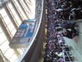 名波引退試合なう。国歌斉唱はミスチル桜井でした。