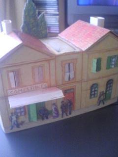 ゴッホの家を組み立ててみた