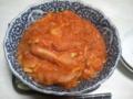 今日の晩ご飯はソーセージのトマト煮ー><