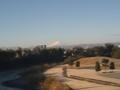 今日は富士山が見える