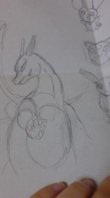 美術の授業中に描いた超うろ覚えポケモン