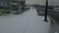 除雪されていないどころか足跡すらないとはどういうことだ! 歩きづ