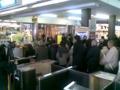 JR富山駅で合格祈願祭