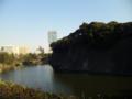 竹橋なう。四ツ谷から皇居をまいてウォーキングで帰宅中。警視庁は見