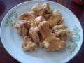 鶏の唐揚げ作ってみた。