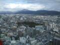 京都タワー展望台より