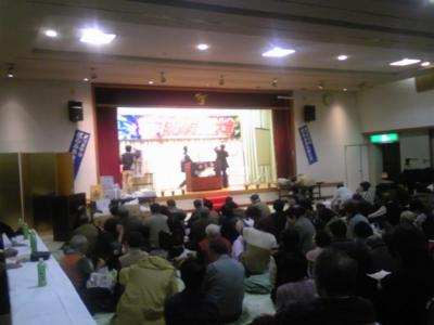 ほらふき大会 会場の様子 #yokote