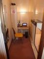 今日の宿は常宿にしてる横浜鶴見のキャビン付きカプセルホテル。朝食