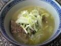「男子ゴハン」レシピでソルロンタン。